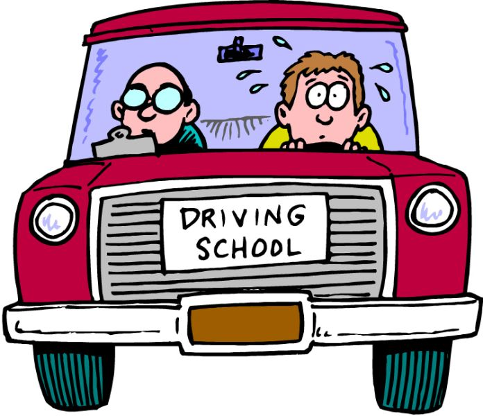 decorative image of student driver