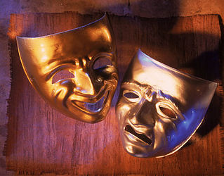 decorative image of drama masks