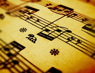 decorative image of music piece