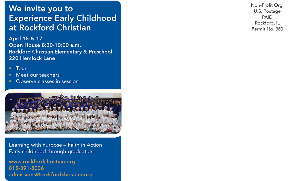 Early Childhood Preview invitation